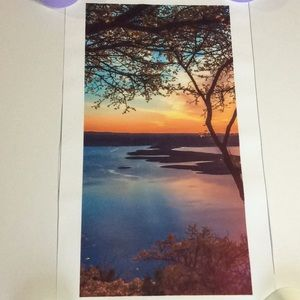 Beautiful Fabric prints pictures sea scapes trees